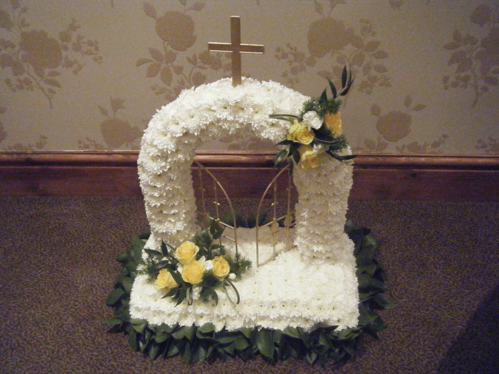 Funeral garland